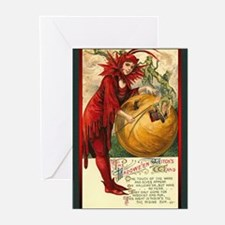 Witches' Wand Greeting Cards (Pk of 10)
