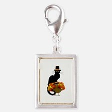 Thanksgiving Le Chat Noir With Turkey Pilgr Charms