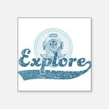 Explore the ocean Sticker