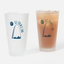 See You In St.Loue Drinking Glass