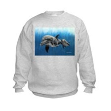 Dolphin Mother and Calf Sweatshirt
