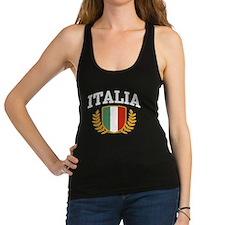 Cute Italian flag Racerback Tank Top