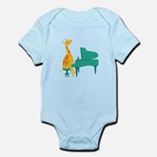 Piano Giraffe Body Suit