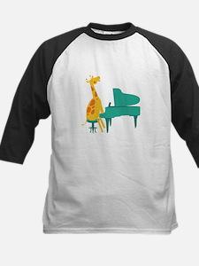 Piano Giraffe Baseball Jersey