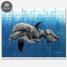 Dolphin Mother and Calf Puzzle