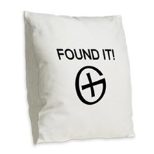 Found it cache Burlap Throw Pillow
