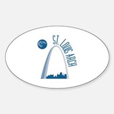 St. Louie Arch Decal