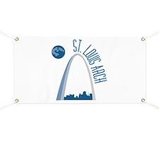 St. Louie Arch Banner