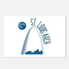 St. Louie Arch Postcards (Package of 8)
