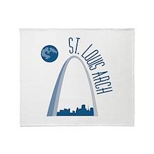 St. Louie Arch Throw Blanket