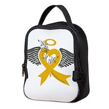 I've held an Angel (Childhood Cancer) Neoprene Lun