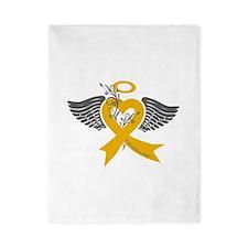 I've held an Angel (Childhood Cancer) Twin Duvet