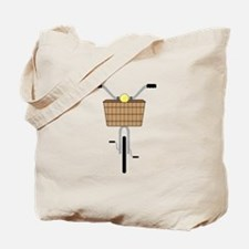 Basket On Bike Tote Bag