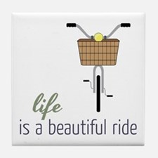 Beautiful Ride Tile Coaster