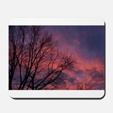 Skies on Fire Mousepad
