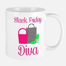 black friday diva Mugs