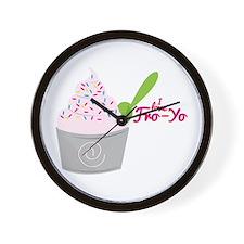 I Love Fro-Yo Wall Clock