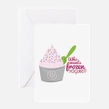Frozen Yogurt? Greeting Cards