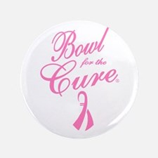 """Bowling for the Cure 3.5"""" Button"""