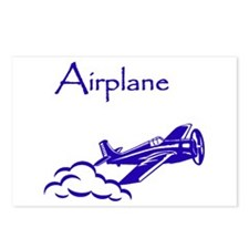 The Blue Plane Postcards (Package of 8)