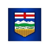 Alberta flag Bumper Stickers