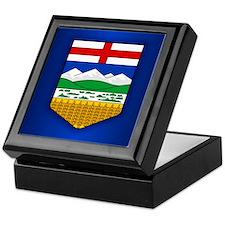 Alberta Flag Keepsake Box
