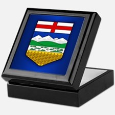 Alberta Flag Keepsake Box