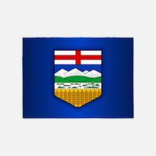 Alberta Flag 5'x7'Area Rug