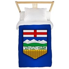 Alberta Flag Twin Duvet