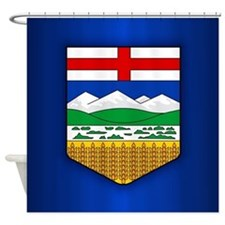 Alberta Flag Shower Curtain