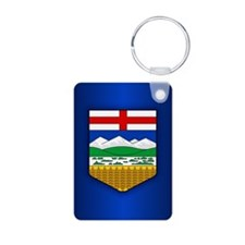 Alberta Flag Keychains