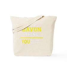 Cute Davon Tote Bag