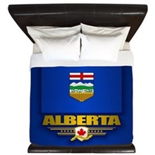 Alberta Flag King Duvet