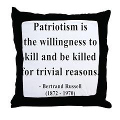 Bertrand Russell 9 Throw Pillow