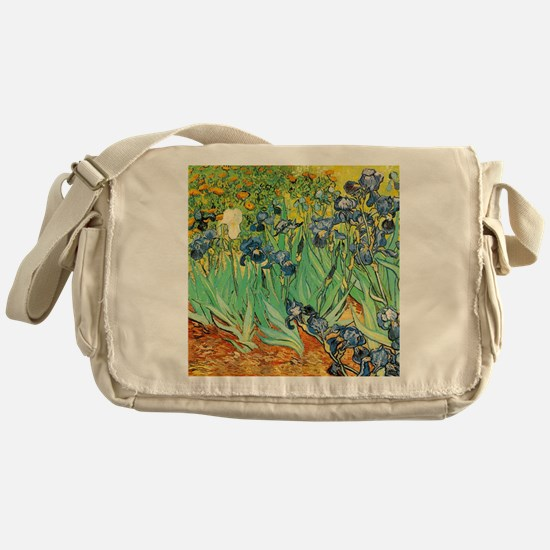 Van Gogh Irises Messenger Bag