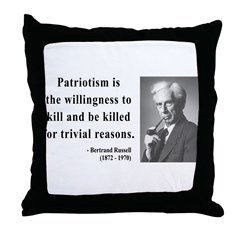 Bertrand Russell 9 Throw Pillow