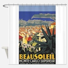 Beausoleil, France, Monte Carlo, Vintage Poster Sh