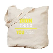 Cute Dion Tote Bag