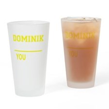 Unique Dominik Drinking Glass