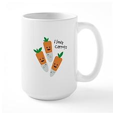 I Love Carrots Mugs