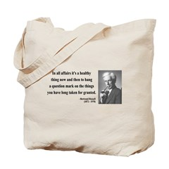 Bertrand Russell 6 Tote Bag