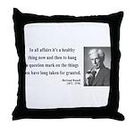 Bertrand Russell 6 Throw Pillow