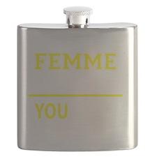 Unique Femme Flask