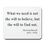 Bertrand Russell 4 Mousepad