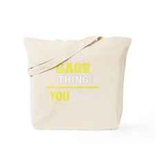 Cute Gage Tote Bag