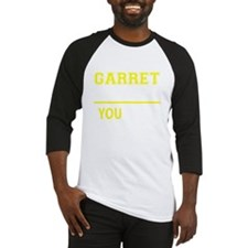Funny Garret Baseball Jersey
