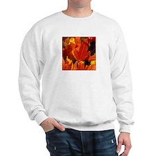 camara orangeLeaves Sweatshirt