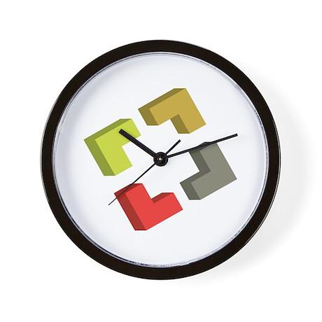 Kaneva Canvas - Wall Clock