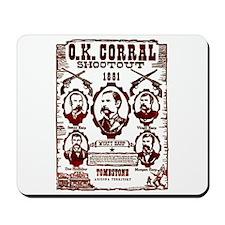 O.K. Corral Shootout Mousepad