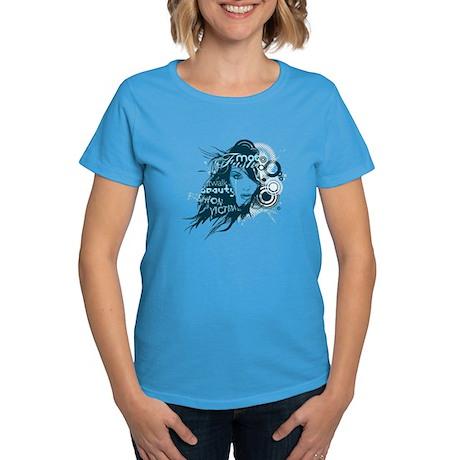 Fashion Victim Women's Carribean Blue T-Shirt